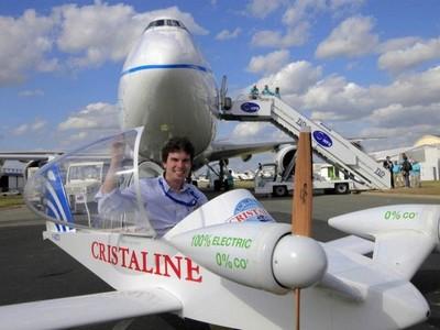 Побит рекорд скорости для пилотируемых электросамолетов